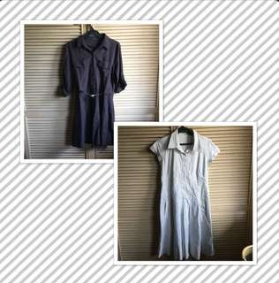 The Store Shirt Dress + Celine Dress Medium