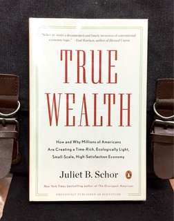 《New Book Condition + Paperback Edition》Juliet B.Schor - TRUE WEALTH (Titled PLENITUTE in Hardcover) : How and Why Millions of Americans Are Creating a Time-rich, Ecologically Light, Small-scale, High-satisfaction Economy