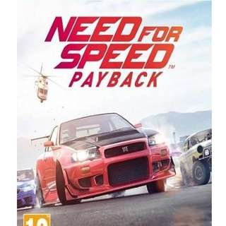 Need for Speed Payback NFS [GAME PC LAPTOP]