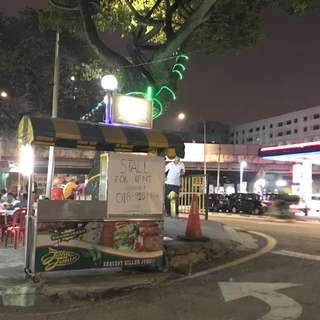 STALL BURGER FOR RENT pudu