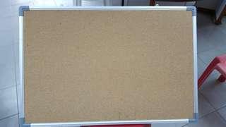 Almost brand new Notice board