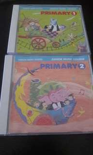 Yamaha Junior Music Course Primary 1 and 2 CD
