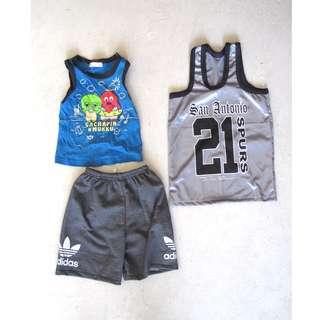 Kids Bundle Shorts Jersy