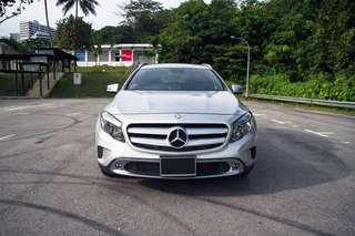 Mercedes GLA for monthly lease