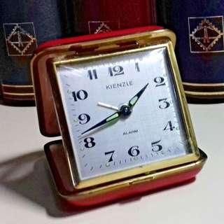 1900's KIENZLE GERMANY TRAVEL ALARM CLOCK
