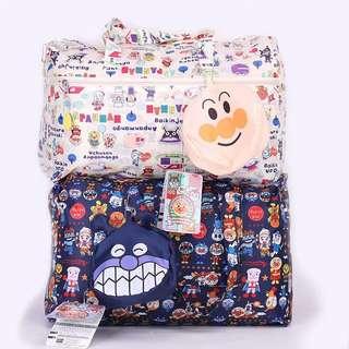 Multipurpose foldable travel bag