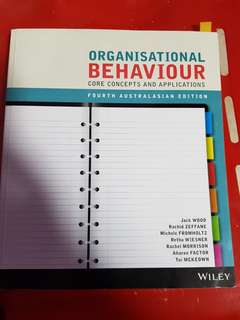 Murdoch Uni - Organisational Behaviour core concpets and application