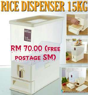 # freepostage Rice Dispenser 15kg