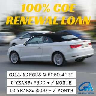 COE Renewal Loan May PQP
