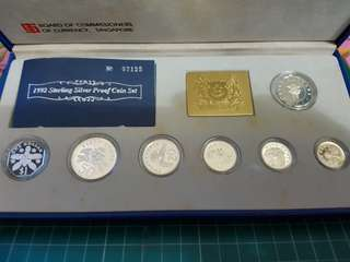 1992 sterling silver proof coin set