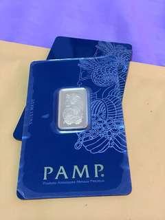 Gold bar 10g PAMP Swiss made