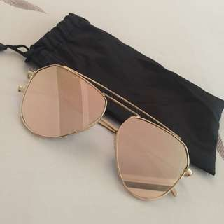 Reflective Pink Sunnies