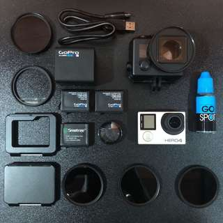GoPro Hero 4 Silver with accessories!!!