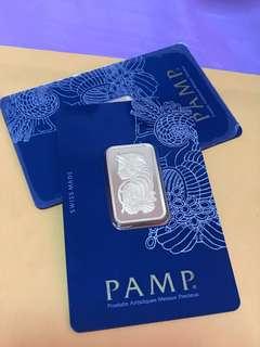 Gold bar 20g PAMP Swiss made