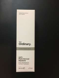 (In stock) The Ordinary 100% Plant Derived Squalane