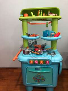 Kitchen set from Early learning centre