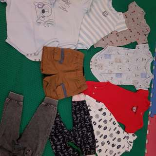 Baby boy preloved clothes
