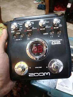 Zoom G2 Guitar Effects
