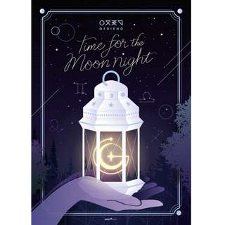 GFRIEND 여자친구 6TH MINI ALBUM - TIME FOR THE MOON NIGHT ( TIME ver / MOON ver / NIGHT ver )