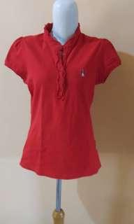 T shirt merah