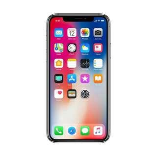 Apple iphone X 64GB cash credit bisa