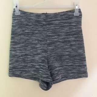 F21 highwaist shorts with zipper