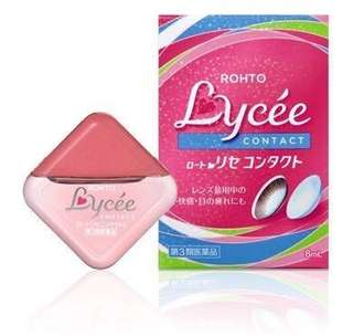 Rohto Lycee Eye Drop for contact lens