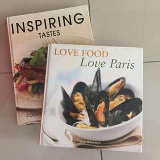 Cooking baking book