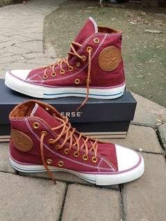 Converse high maroon + BoX