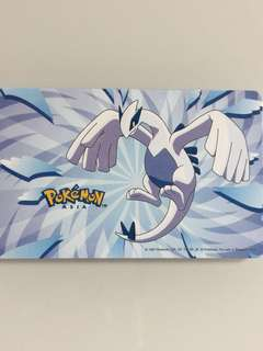 Limited Edition brand new Pokemon legendary Monster LUGIA Design ezlink Card For $12.90.