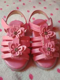 Baby Pink Sandals with Lights