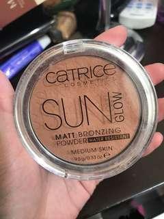 Catrice - Sun glow matt bronzing powder