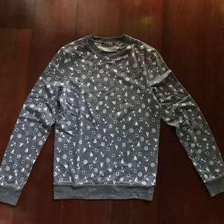 Topman Printed Sweater