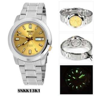 SEIKO Watch SNKK13K1