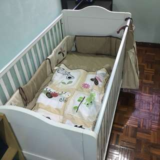 Baby Cot Up to 7 years old