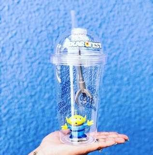 美國迪士尼 🇺🇸 三眼怪 發光水杯