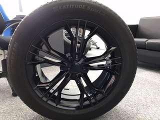 "Audi 19"" sport rims with tyres for sale"
