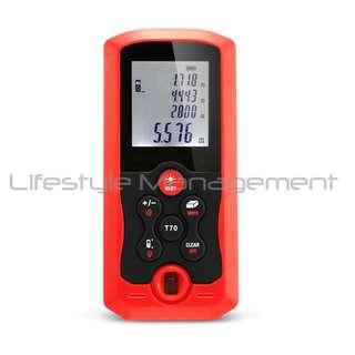 Handheld Laser Pointer Rangefinder Infrared Measuring Instrument Distance 40 meter: Digital Range Measurement Tape DIY (Great tool for property agents)