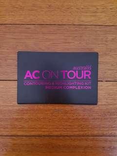 Australis AC On Tour Contouring & Highlighting Kit in Medium Complexion