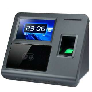 Facial Recognition and Fingerprint Scanner Attendance Device for Employees System