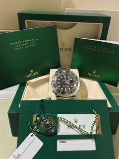 (RESERVED)Rolex 50th Anniversary Sea-Dweller 126600