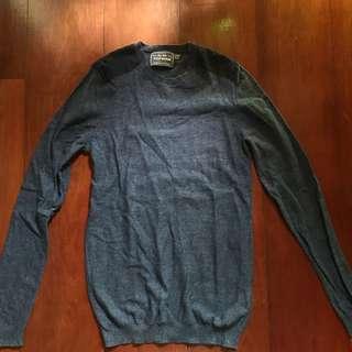 Topman Blue Sweater