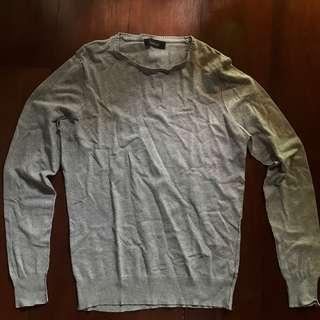 Zara Man Gray Sweater