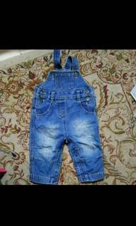 Overall jeans Gap