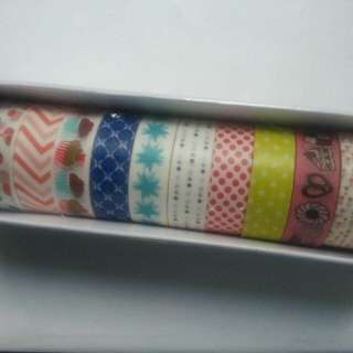 Washi Tape Roll Set