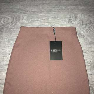 MISSGUIDED Split Midi Skirt