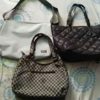 3PCS BAG..MANGO original,DKNY ori POLO