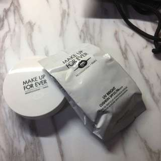 全新 半價Make up forever cushion foundation refill