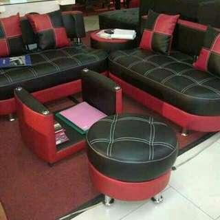 Sofa sudut tiger