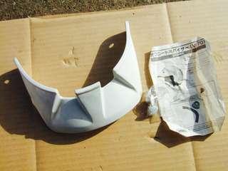 Shoei V-70 white cap
